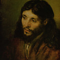 Head Of Christ by Rembrandt