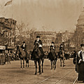 Head Of Washington D.c. Suffrage Parade by Padre Art