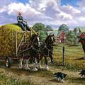 Heading For The Loft by Richard De Wolfe