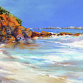 Headland At Lowtide.. by Rae Andrews