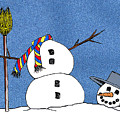 Headless Snowman by Nancy Mueller