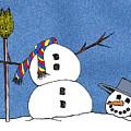 Headless Snowman by Nancy Mueller