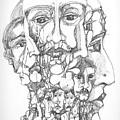 Heads by Padamvir Singh