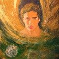 Healing With The Golden Light by Alma Yamazaki