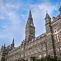 Healy Hall - Georgetown University by Frank Mari