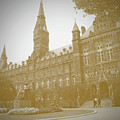 Healy Hall Sepia by Jost Houk
