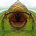 Heart 12 - Yin by Dawn Eshelman