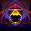 Heart 16 - Yin by Dawn Eshelman