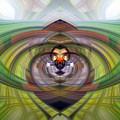 Heart 20 - Yin by Dawn Eshelman