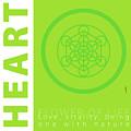 Heart Chakra Series Three by Experimenda