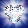 Heart Diamond by Setsiri Silapasuwanchai