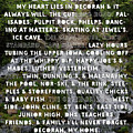 Heart Lies In Decorah Iowa Dunning's Springs by Kari Yearous