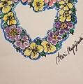 Heart Of Flowers by Geraldine Myszenski