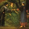 Heart Of The Rose 1889 by BurneJones Edward