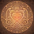 Heart Of Wisdom Mandala by Cristina McAllister