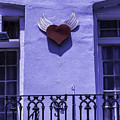Heart On Wall by Garry Gay
