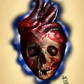 Heart Skull by Pedro Oliveira