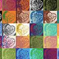 Heart To Heart Rendition 5x6 Equals 30  by Kerryn Madsen-Pietsch