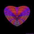 Hearts #18 by Visual Artist Frank Bonilla