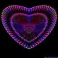 Hearts #19 by Visual Artist Frank Bonilla