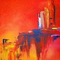 Heated Abstraction by Liz McQueen