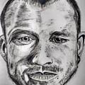 Heath Ledger Charcoal Sketch by Dushyant Kumar