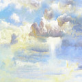 Heavenly Clouded Beautiful Sky by Isabella Howard