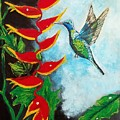 Heavenly Heliconia by Deepa Sahoo
