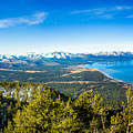 Heavenly South Lake Tahoe View 1 - Left Panel by G Matthew Laughton