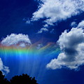 Heavens Rainbow by Linda Sannuti