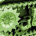 Heavy Metal In Green by Valerie Fuqua