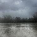 Heavy Rain Over A River by Nika Lerman