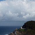 Heceta Head Lighthouse by Randall Ingalls