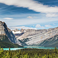 Hector Lake, Canadian Rockies by Daryl L Hunter