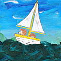 Hedgehogs Go A Sailing-oh by Kerry Hartjen