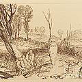 Hedging And Ditching by Joseph Mallord William Turner