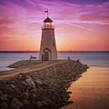 Hefner Lighthouse by Ricky Barnard