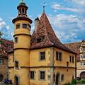 Hegereiterhaus Rothenburg Ob Der Tauber by Anthony Dezenzio