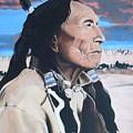 Hehaka Sapa Black Elk by Terry Webb