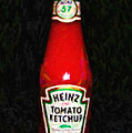Heinz Tomato Ketchup by Wingsdomain Art and Photography
