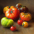 Heirloom Tomatoes by Robert Papp