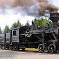Heisler Steam Engine Number 6 by Carolyn Postelwait