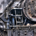 Heisler Steam Engine by Jerry Fornarotto