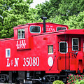 Helena Red Caboose by Parker Cunningham