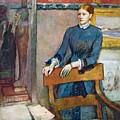 Helene Rouart by Edgar Degas