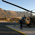Helicopter Tours Of Cape Town And Table Mountain by Andy Smy