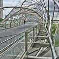 Helix Bridge by Alan Kepler