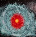 Helix Nebula by Georgeta  Blanaru
