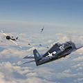 Hellcat F6f - Duel In The Sun by Pat Speirs