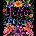 Hello Gorgeous Black  by Shelley Wallace Ylst